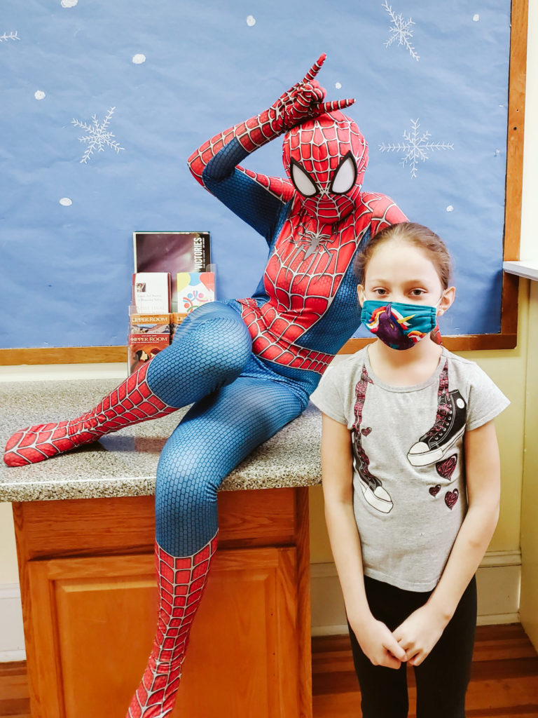 Spiderman Visits Mountain-10