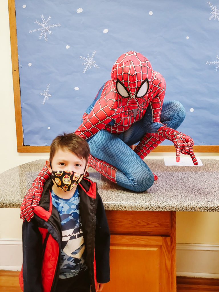 Spiderman Visits Mountain-11