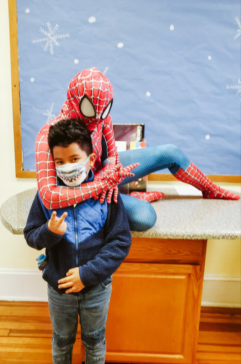 Spiderman Visits Mountain-17