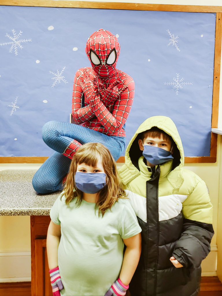 Spiderman Visits Mountain-18