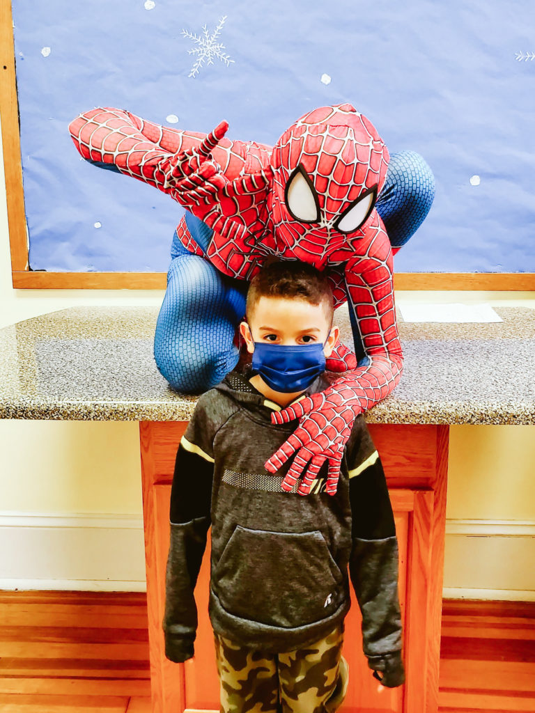 Spiderman Visits Mountain-19