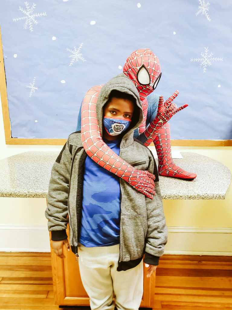 Spiderman Visits Mountain-22