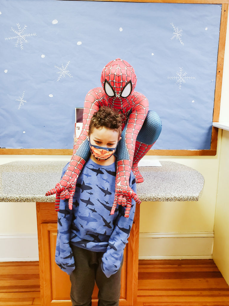 Spiderman Visits Mountain-24