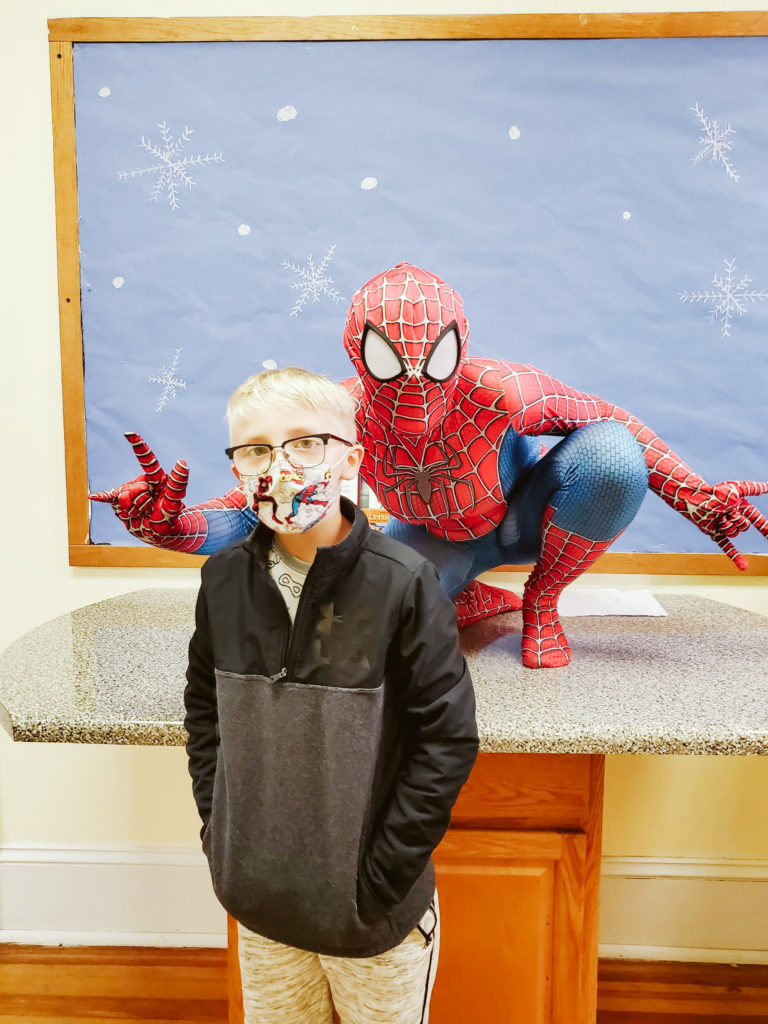 Spiderman Visits Mountain-25