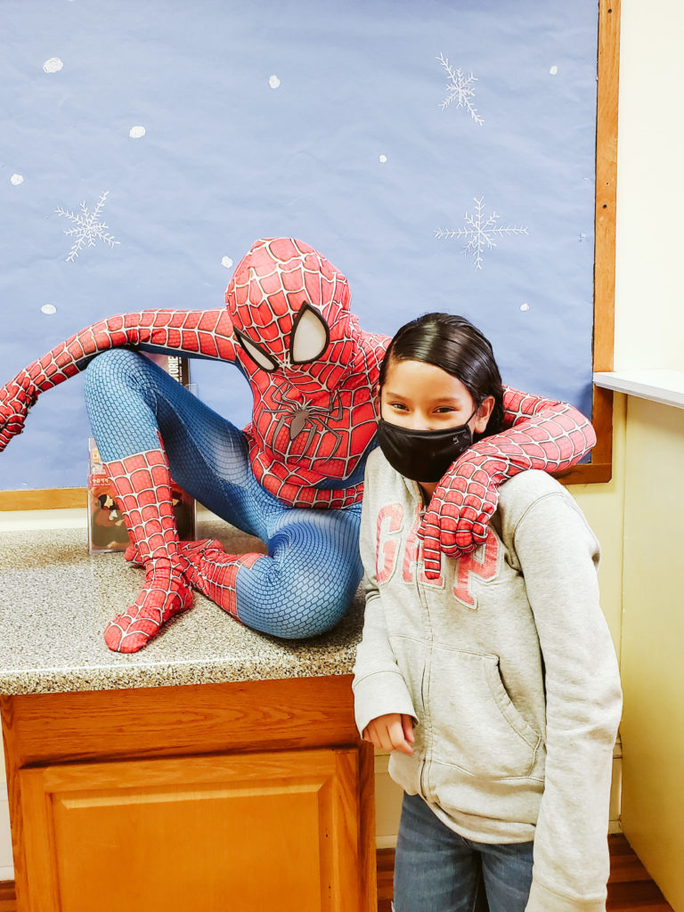 Spiderman Visits Mountain-26
