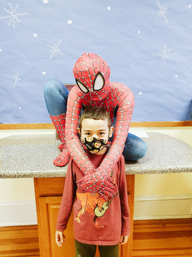 Spiderman Visits Mountain-27