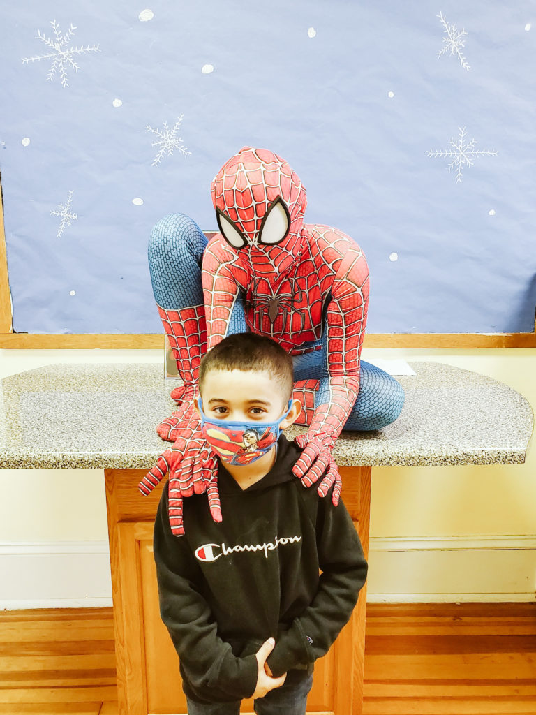 Spiderman Visits Mountain-28