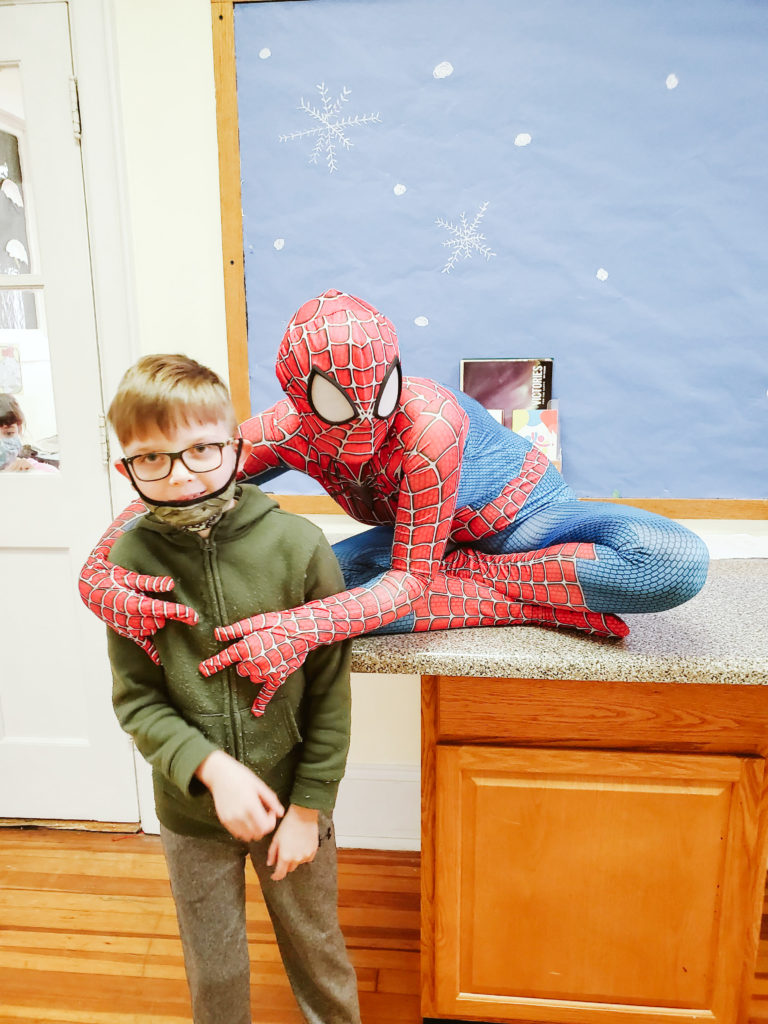 Spiderman Visits Mountain-29