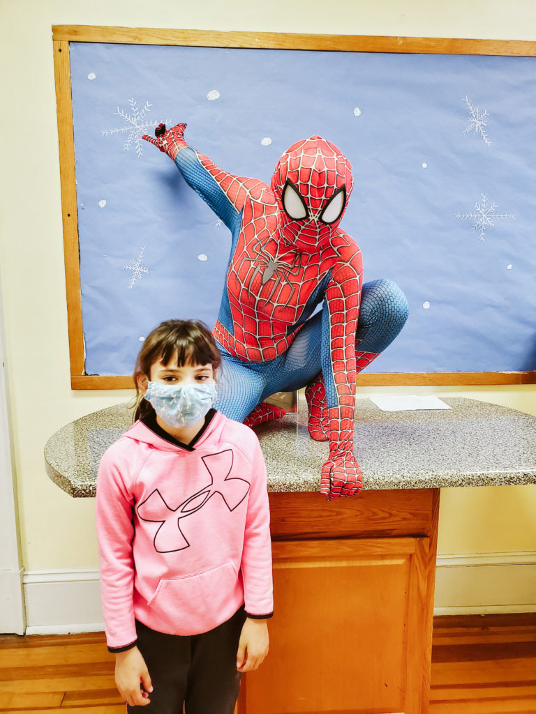 Spiderman Visits Mountain-30