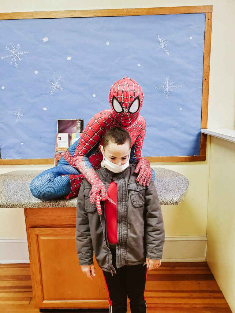 Spiderman Visits Mountain-31
