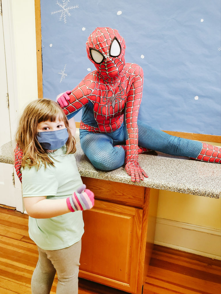 Spiderman Visits Mountain-5