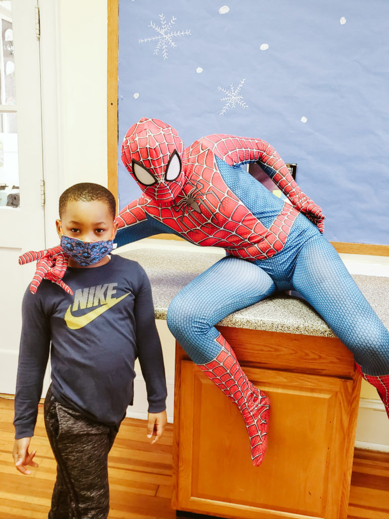 Spiderman Visits Mountain-9